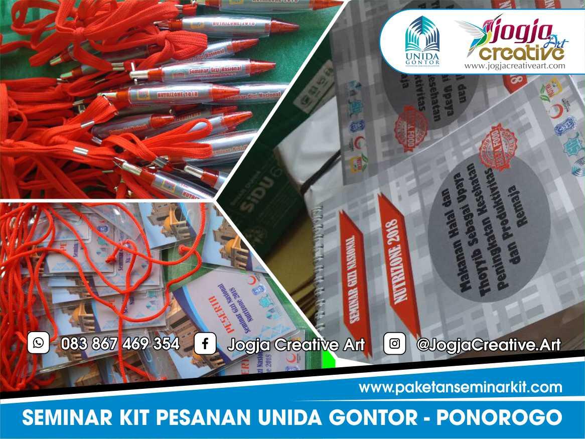 Paket Seminar Kit Murah Pesanan Unida Gontor