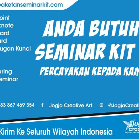 Produsen Seminar Kit Murah Jakarta