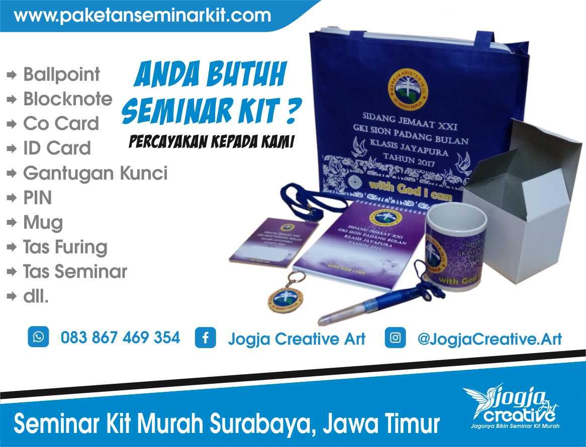 Produsen Tas Seminar dan Seminar Kit Murah Surabaya