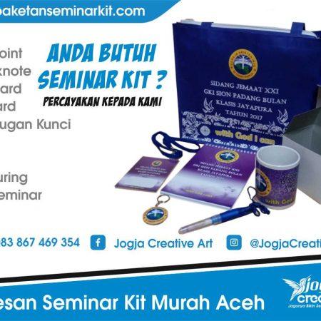 Pesan Seminar Kit Murah Aceh