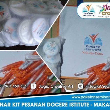 Seminar Kit Murah Pesanan Docere Istitute Makassar, Sulawesi Selatan