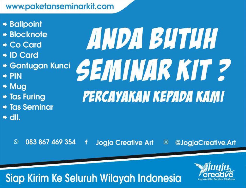 Produsen Paket Seminar Kit Murah Jayapura Papua