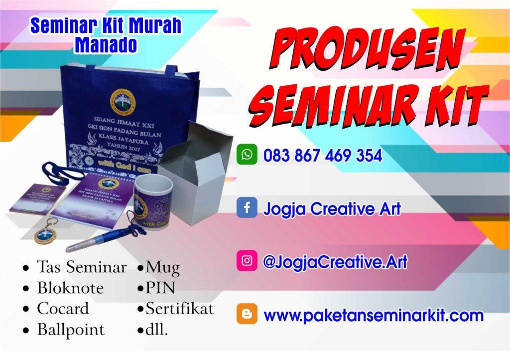 Produsen Paket Seminar Kit dan Tas Seminar Murah Manado, Sulawesi Utara