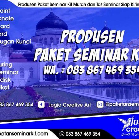 Pesan Paket Seminar Kit Murah dan Tas Seminar Banda Aceh