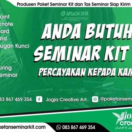 Produsen Paket Seminar Kit Dan Tas Seminar Murah Kota Jambi
