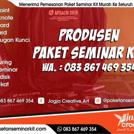 Produsen Paket Seminar Kit Dan Tas Seminar Murah Kota Tidore