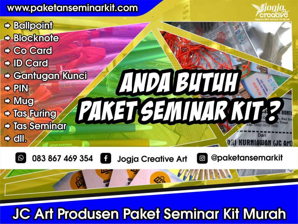 Produsen Paket Seminar Kit Murah dan Tas Seminar Ambon Maluku