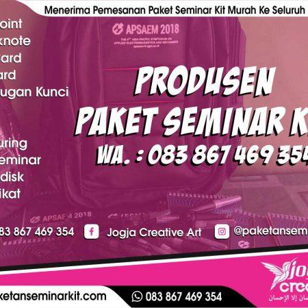 Produsen Seminar Kit Murah dan Tas Seminar Pulang Pisau, Kalimantan Tengah