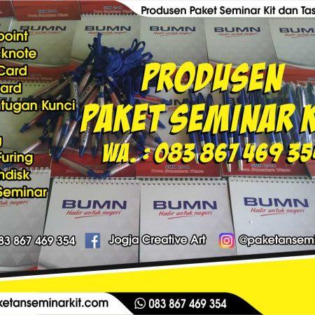 Pesan Paket Seminar Kit dan Tas Seminar Pulang Pisau, Kalimantan Tengah