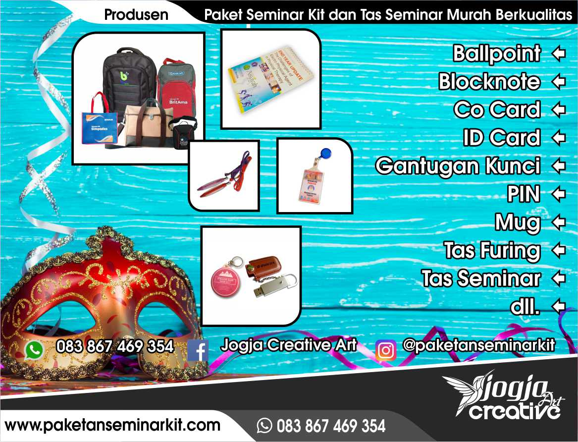 Pesan Tas Seminar dan Paket Seminar Kit Padang, Sumatera Barat