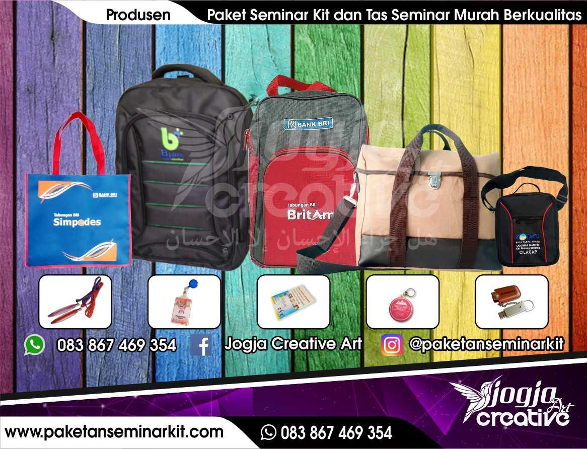 Produsen Paket Seminar Kit dan Tas Seminar Makassar, Sulawesi Selatan