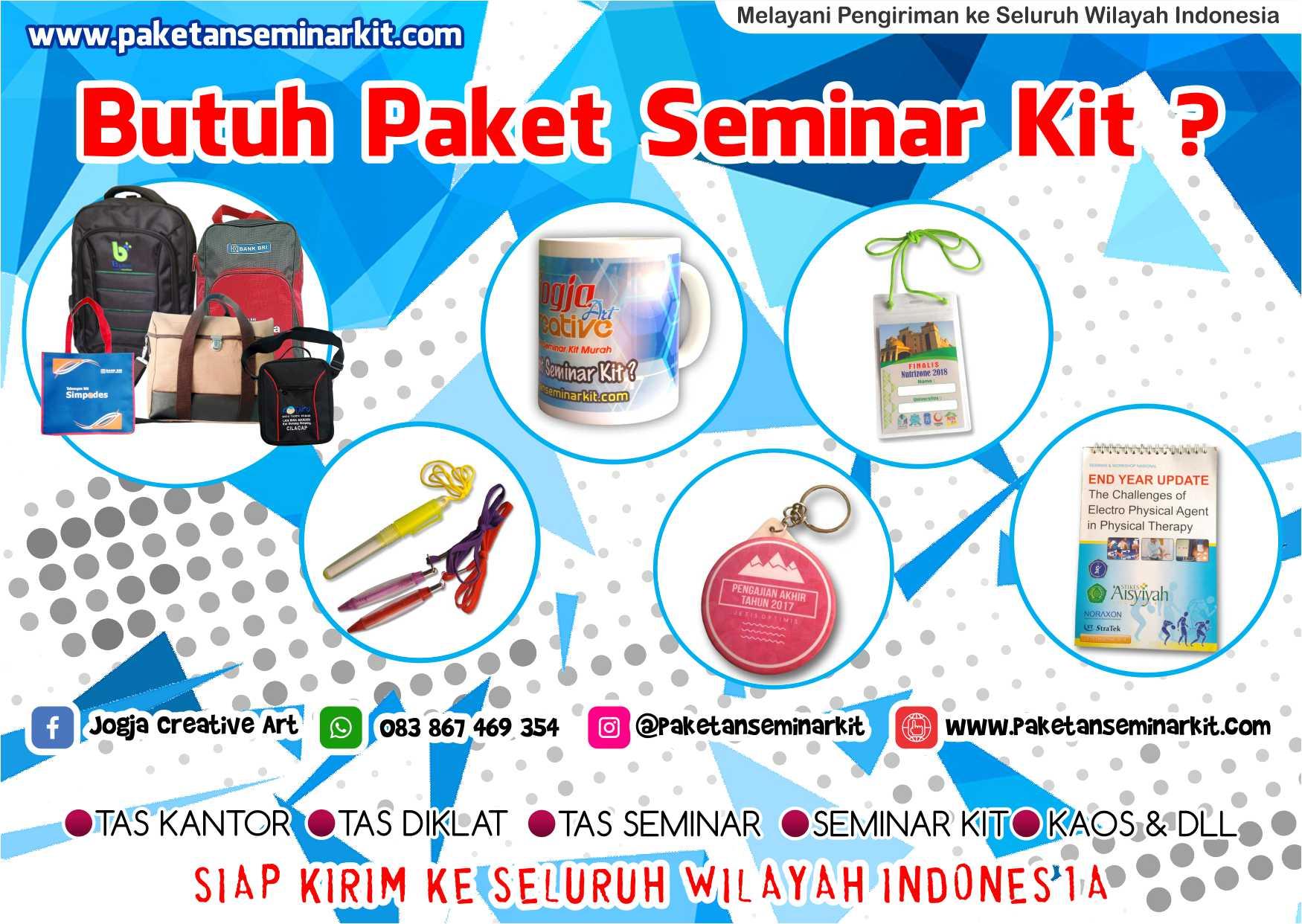 Produsen Paket Seminar Kit dan Tas Seminar Murah Makassar