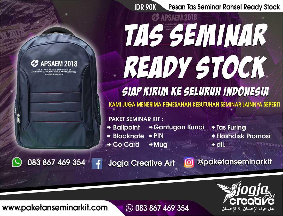 Pesan Tas Seminar Ransel Ready Stock