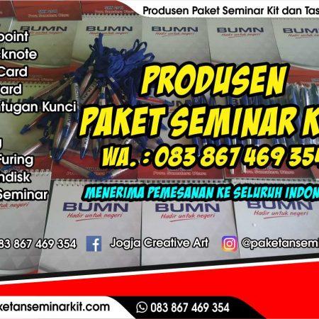Paket Seminar Kit Murah dan Tas Seminar Jember, Jawa Timur