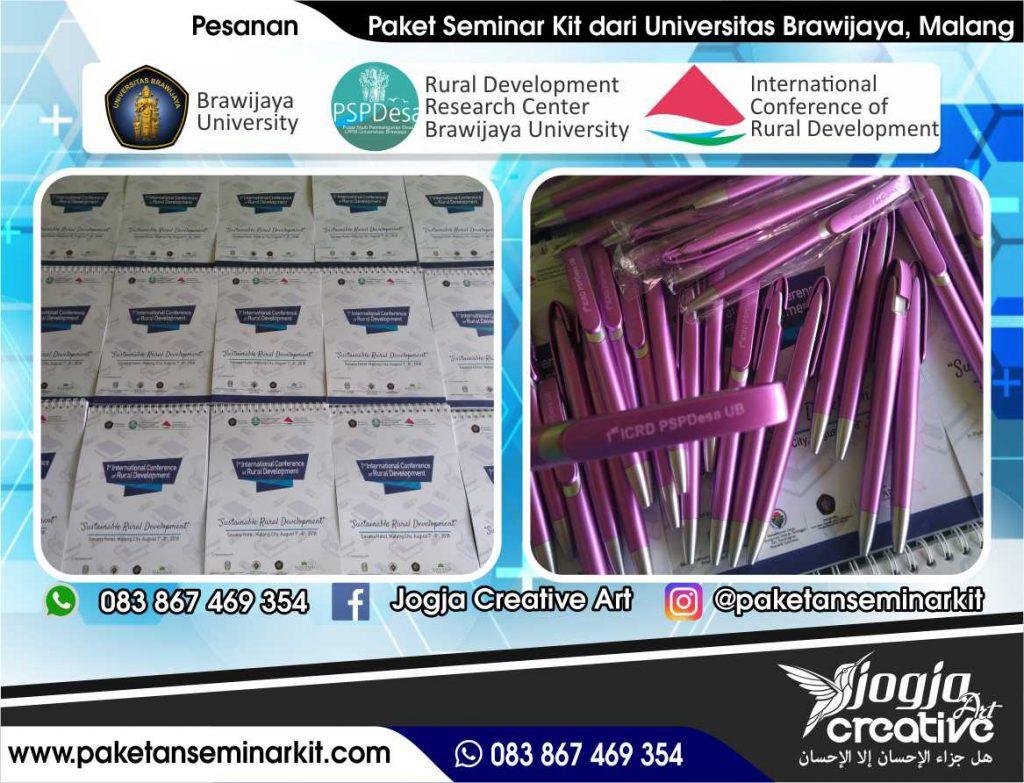 Paket Seminar Kit Pesanan Universitas Brawijaya Malang, Jawa Timur