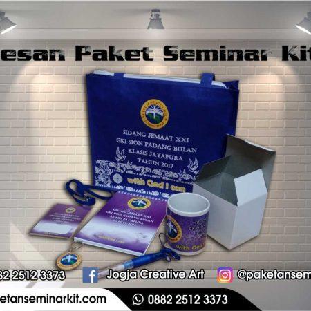 Pesan Paket Seminar Kit dan Tas Seminar Kota Bontang