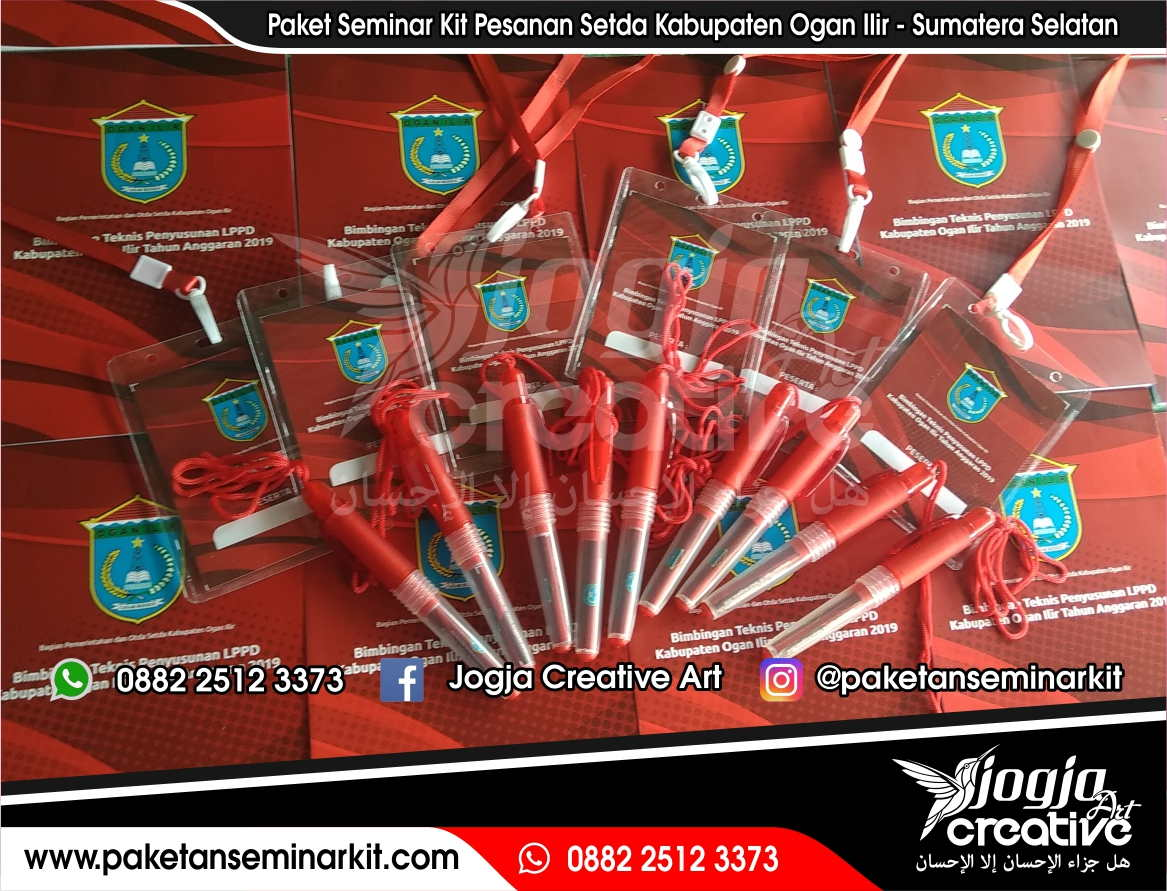 Paket Seminar Kit Murah Pesanan Setda Kabupaten Ogan Ilir - Sumatera Selatan