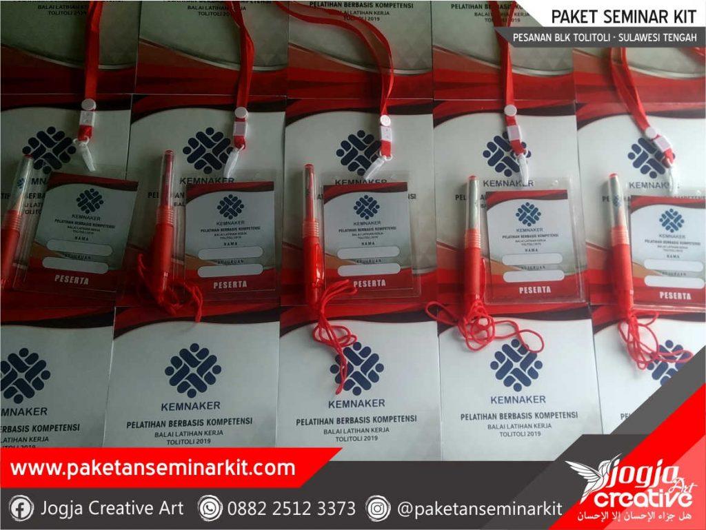 Paket Seminar Kit Pesanan BLK Kemnaker Tolitoli, Sulawesi Tengah