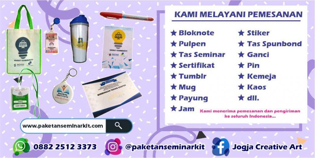 Pesan Paket Seminar Kit Murah Surabaya