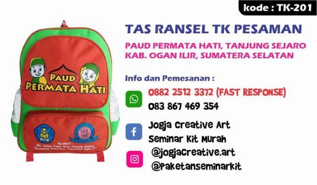 Paket Tas Seminar Ransel TK Murah Ogan Ilir Palembang