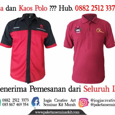 Konveksi Kemeja dan Kaos Polo Makassar 1