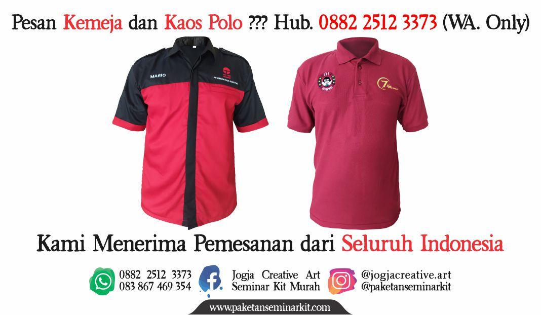 Konveksi Kemeja dan Kaos Polo Makassar