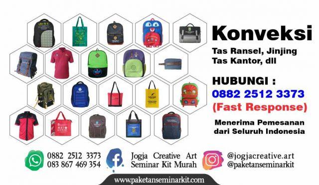 Konveksi Tas Ransel Seminar Kit Palembang