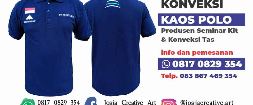 Konveksi Kaos Polo kemeja Morowali Palu Makassar Balikpapan